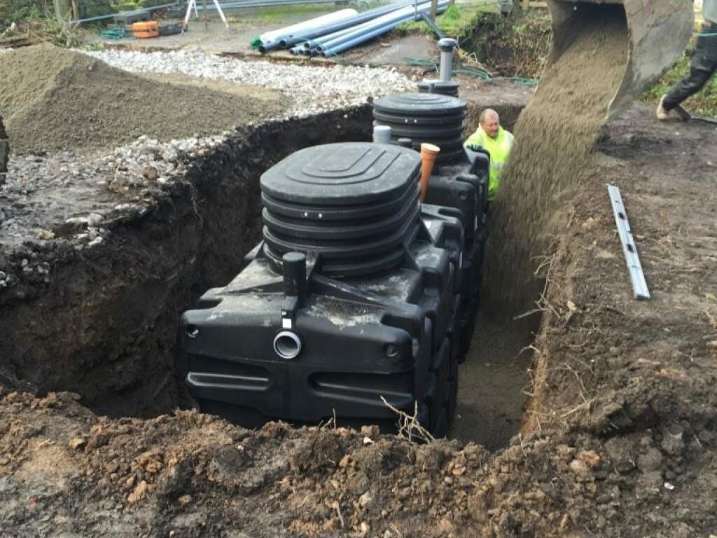 new build 5 bedroom house with biorockl system  biorock